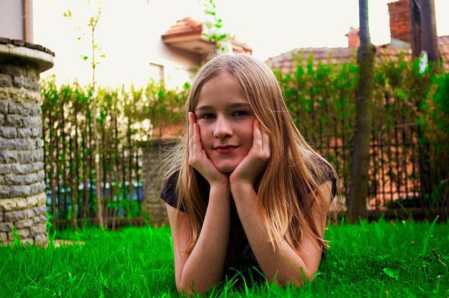 krásná holka