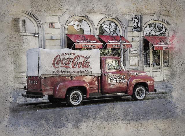 staré nákladní auto